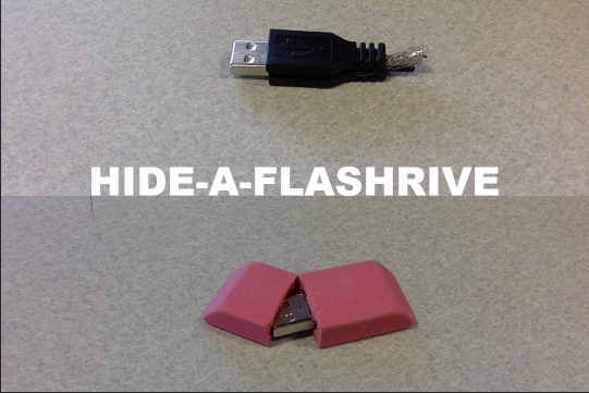 Picture of Hide-a-flashdrive
