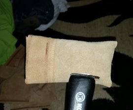 Diy leather sheath for you axe!