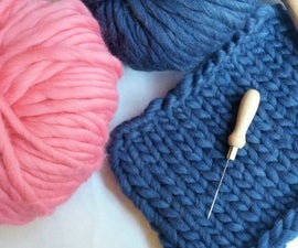 How to Join Yarn and Finish Garments With a Felting Needle