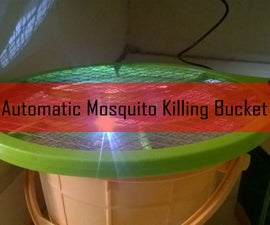 Automatic Mosquito Killing Bucket