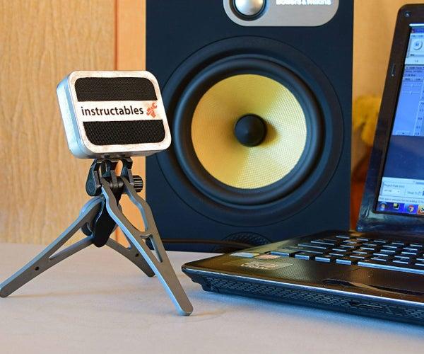 Altoids USB Condenser Microphone