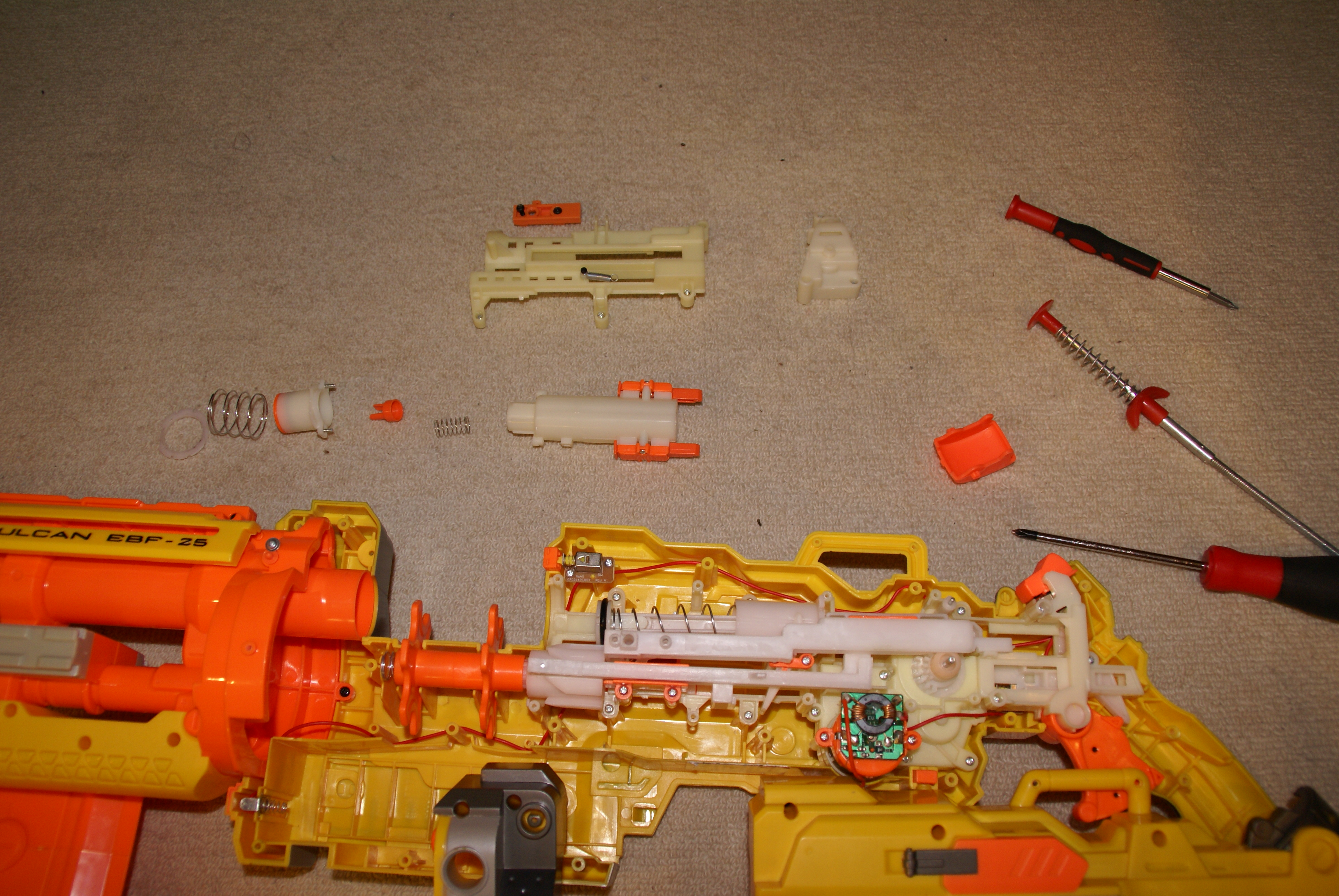 Picture of M2 P1, Master Air Restrictor Removal