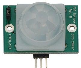 Pır sensor+Raspberry pi+IFTTT