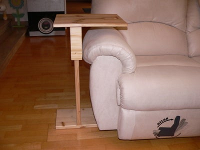 Side Table With Moving Top