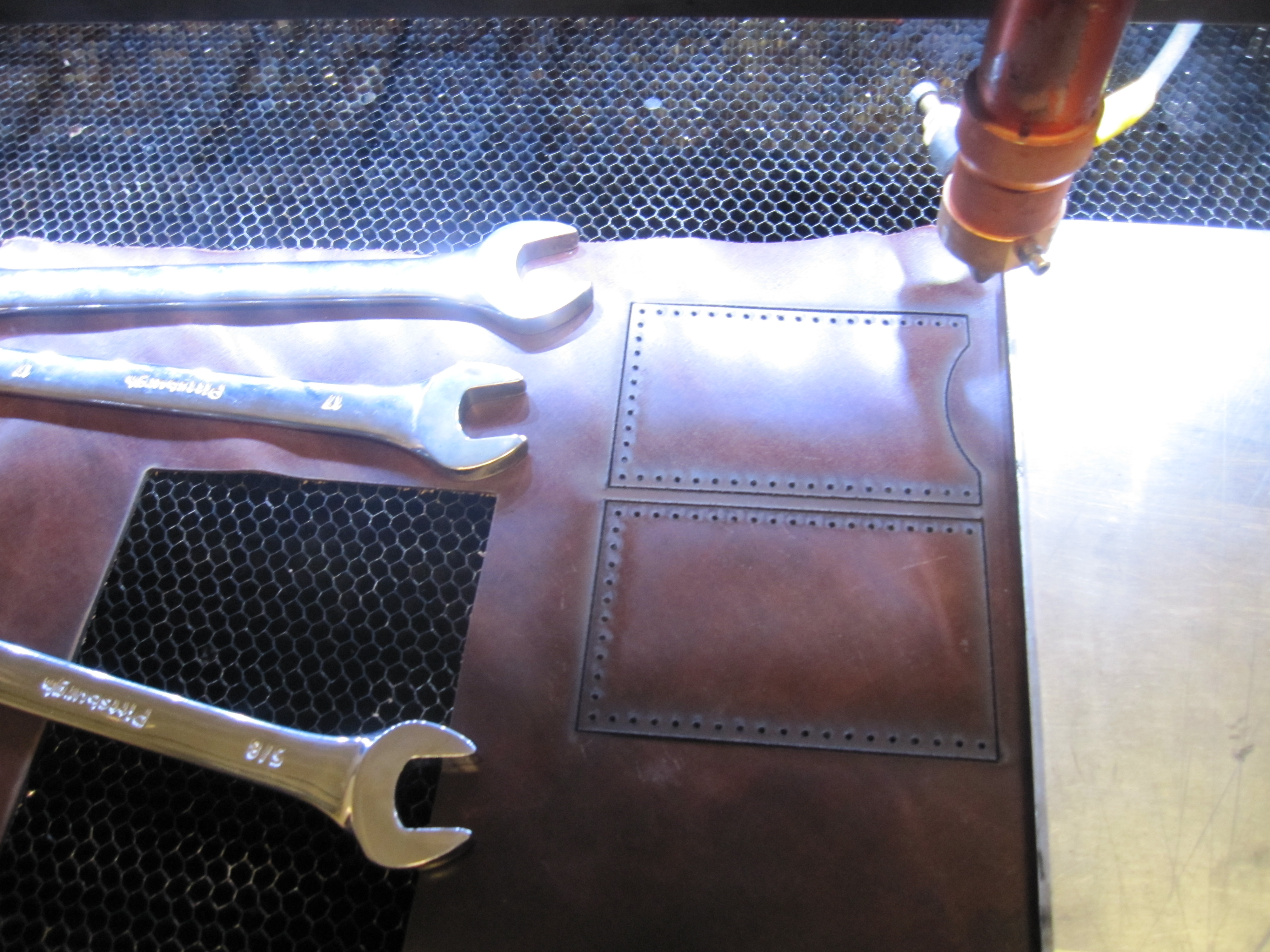 Picture of Laser Cut the Leather