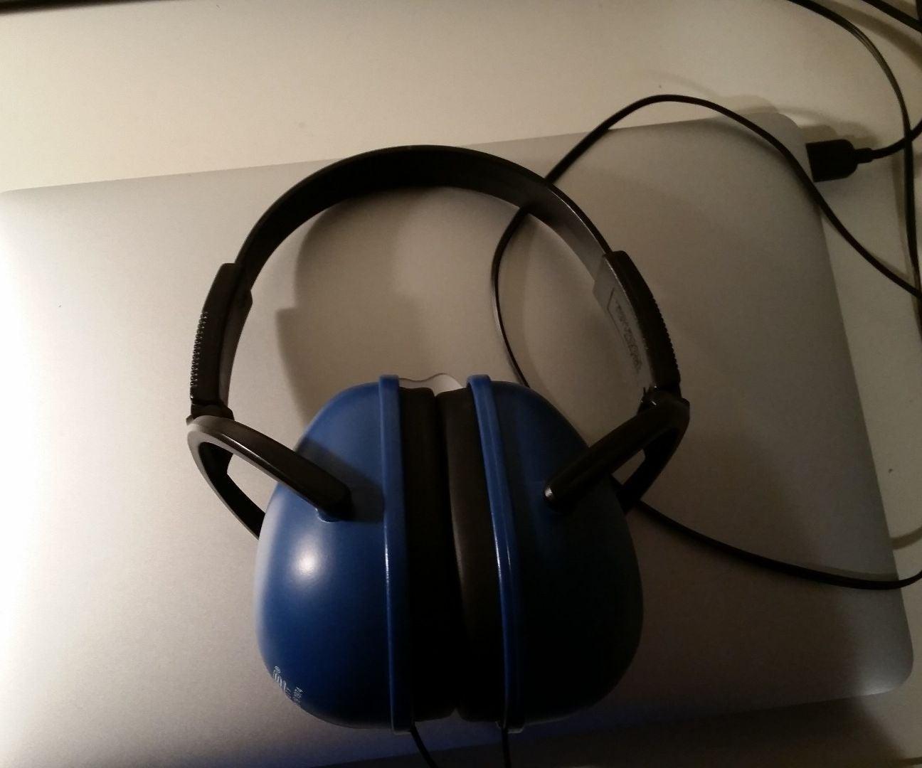 DYI Noise-cancelling Headphones