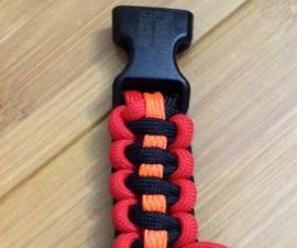 Flatline Paracord Bracelet