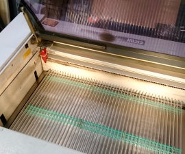 Cutting Table for Trotec Speedy 300 Laser Cutter
