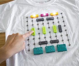 Shirt Circuit: DIY Wearable Breadboard Circuits