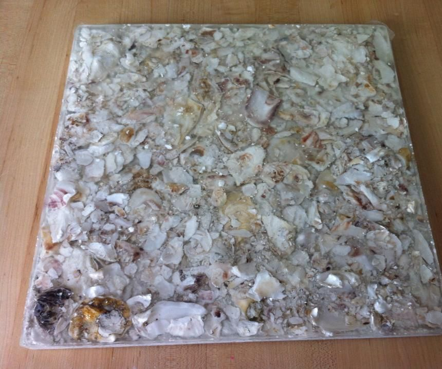 Oyster Shell Tiles 9 Steps With Pictures Instructables