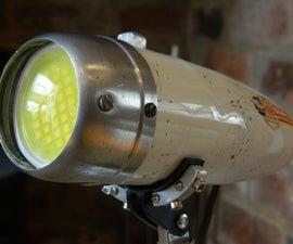 Vintage Bike Light Desk Lamp