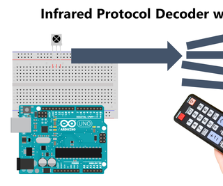 Infrared Protocol Decoder With Arduino