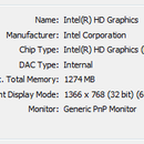 checking the graphic card in windows