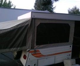 Tent Trailer Roof Re-build