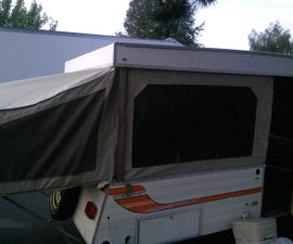 Tent Trailer Roof Re-build