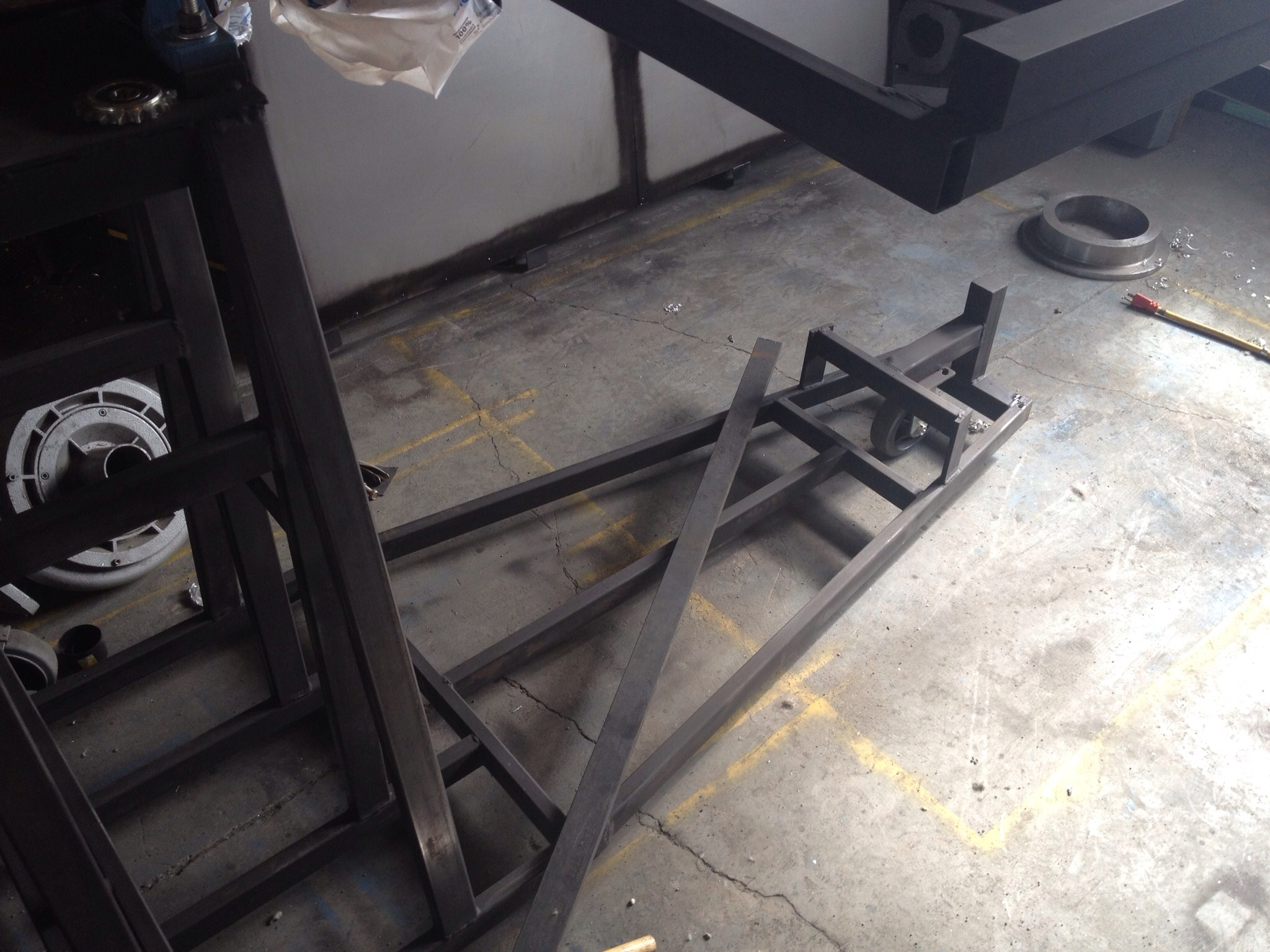 Picture of Welding Frame Rotary Mount