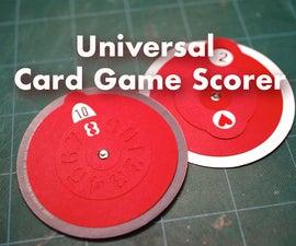 通用纸牌游戏记分器