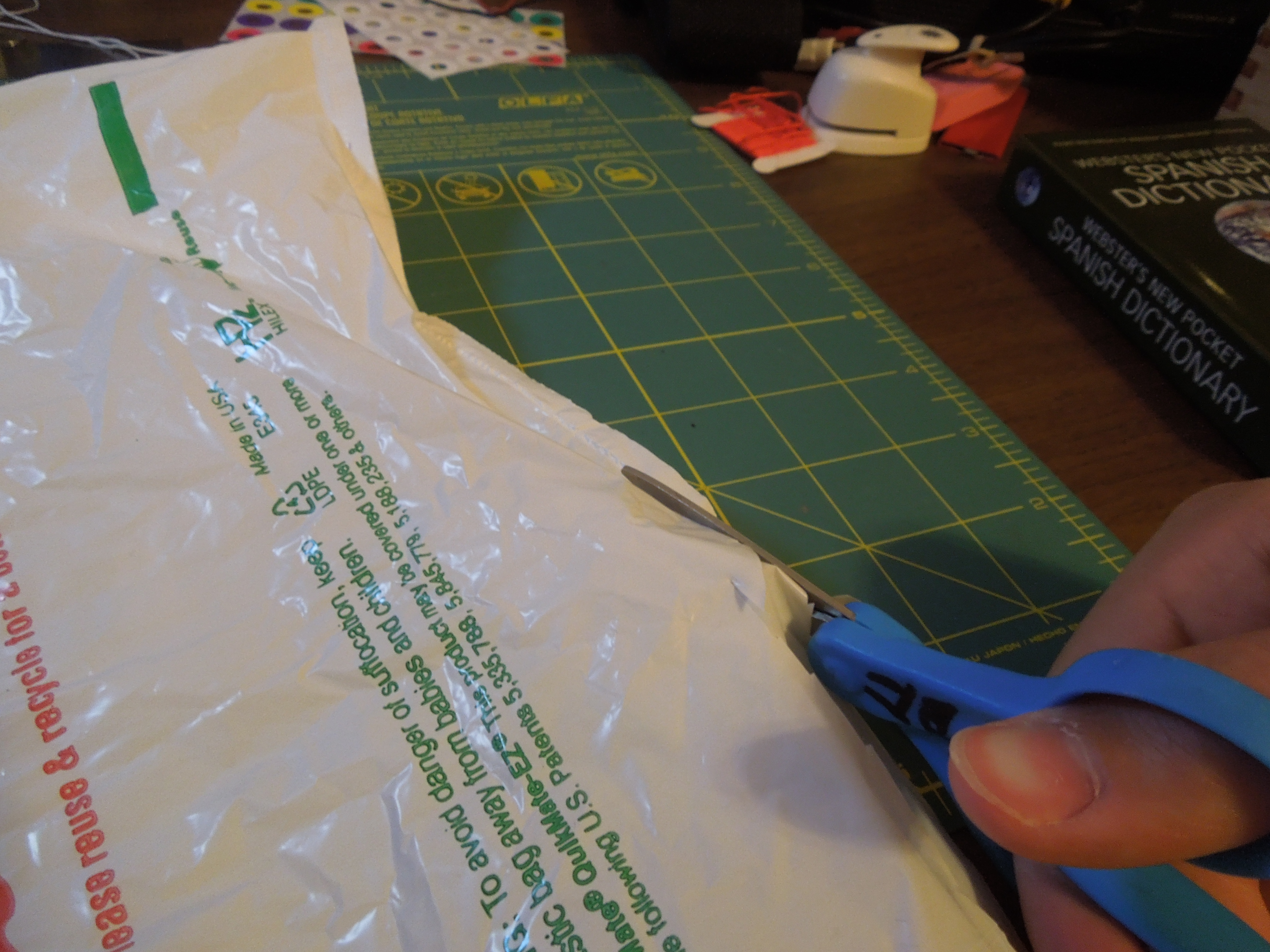 Picture of Preparing Bag