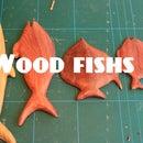 Wood fish