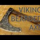 Wooden Viking Bearded Axe
