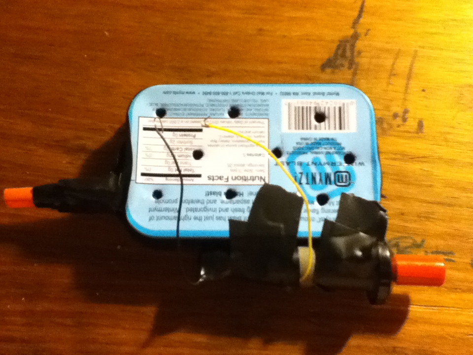Picture of Final and Optional Igniter