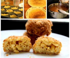Deep Fried Mac & Cheese