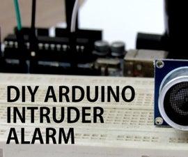 World's Loudest Arduino Intruder alarm