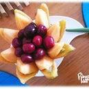 How to Carve a Melon Flower Basket