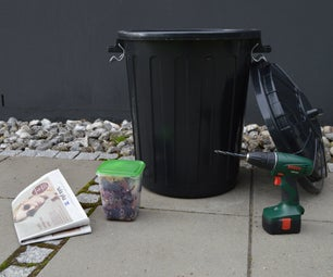 DIY Compost Recycling Bin