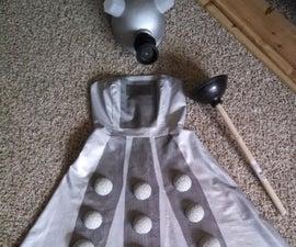 DIY Dalek Armor Dress