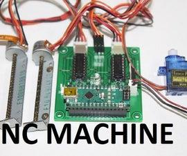 CNC Machine Using Arduino Nano and DVD Drive Stepper Motor