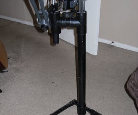PVC Bow Stand and Quiver