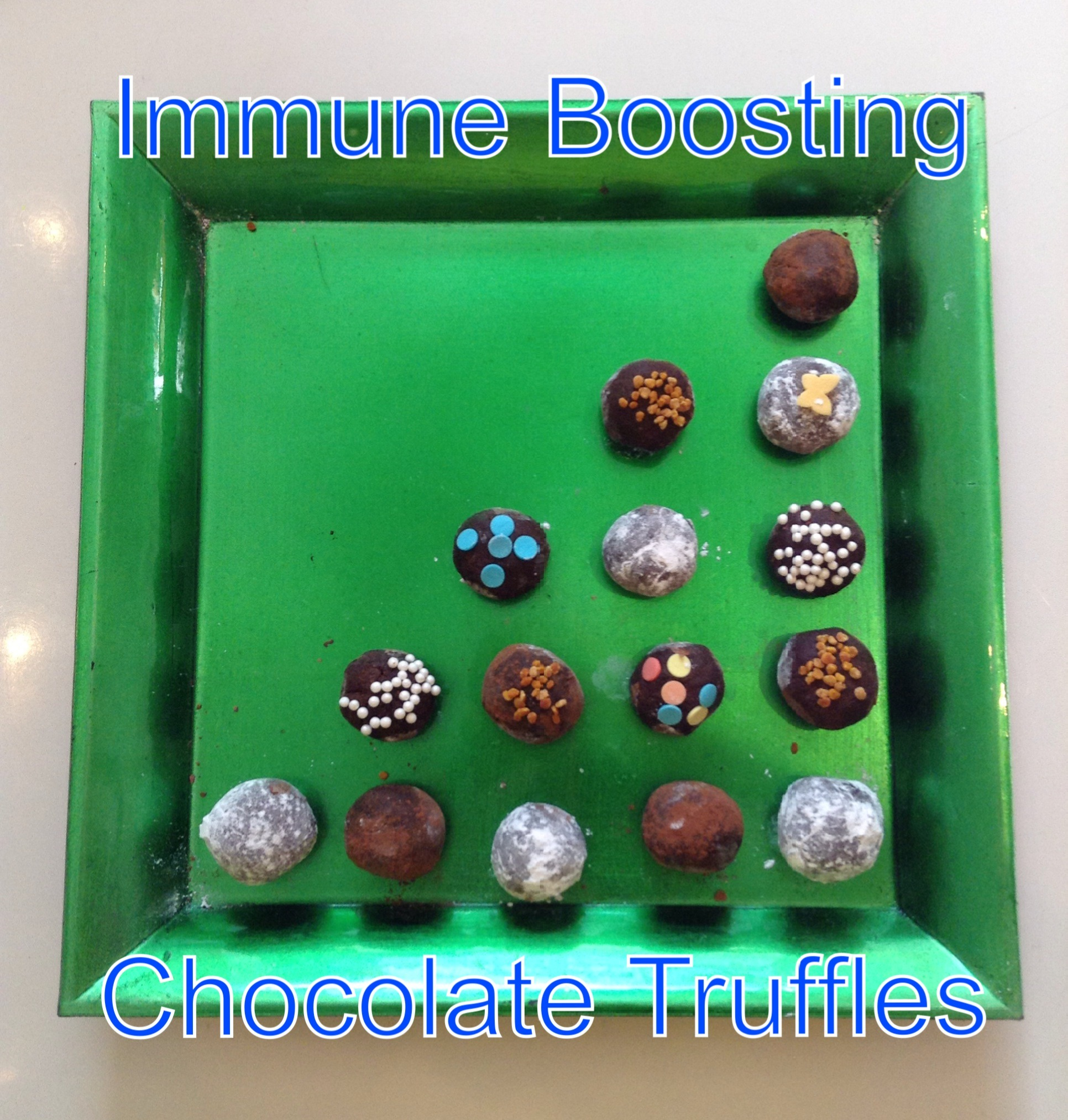 Picture of Immune-Boosting Chocolate Truffles