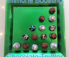Immune-Boosting Chocolate Truffles