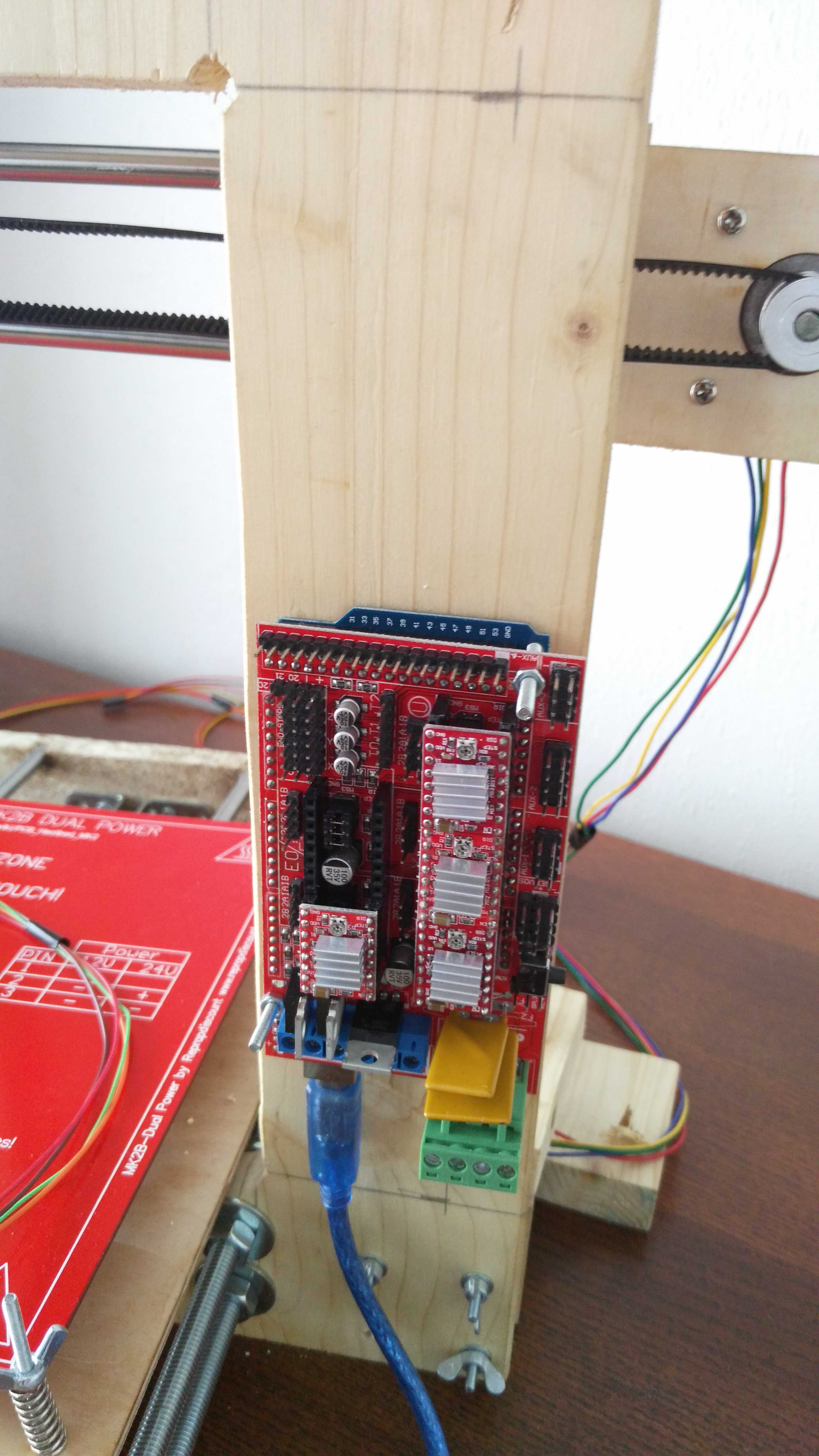 Picture of Controller,Power Supply, Hotend, Heatbed
