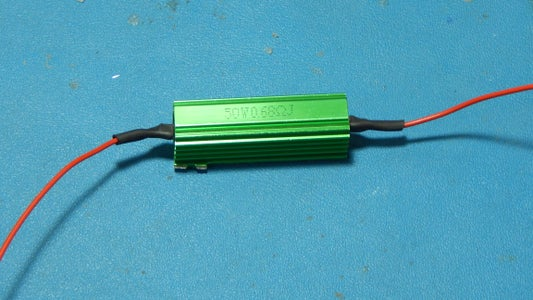 Add Wire to Power Resistor