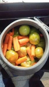 Gogonele Murate - Pickled Green Tomatoes in Salted Water (brine)