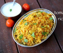 Tomato Rice Recipe (Step by Step With Images)