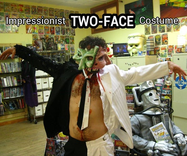 Impressionist TWO-FACE Costume!