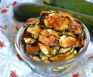 Healthy and Snackable Zucchini Chips