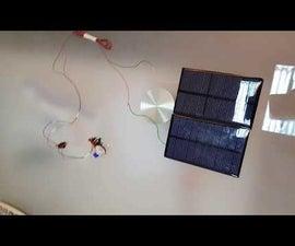 Solar Pulse Motor It Works Inside and Outside