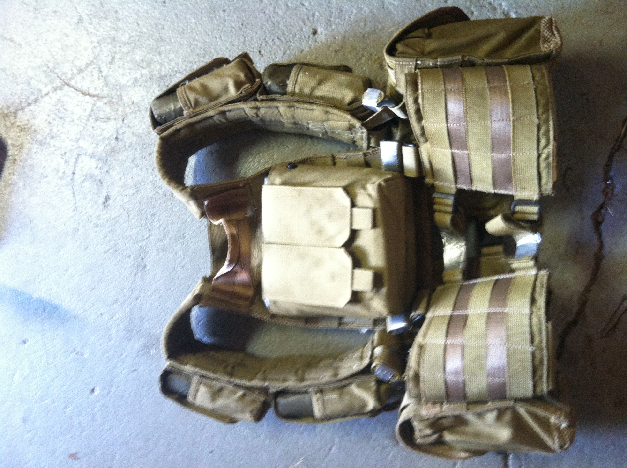 Picture of Military Surplus Weighted Conditioning Vest