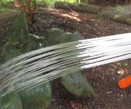Serendipitous Garden Watering Nozzle From Water Balloon Filler