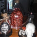 Macabre Bell Jars From Recycled Pop Bottles