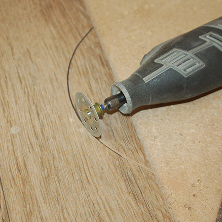 Easy Way to Cut Curves in Tiles