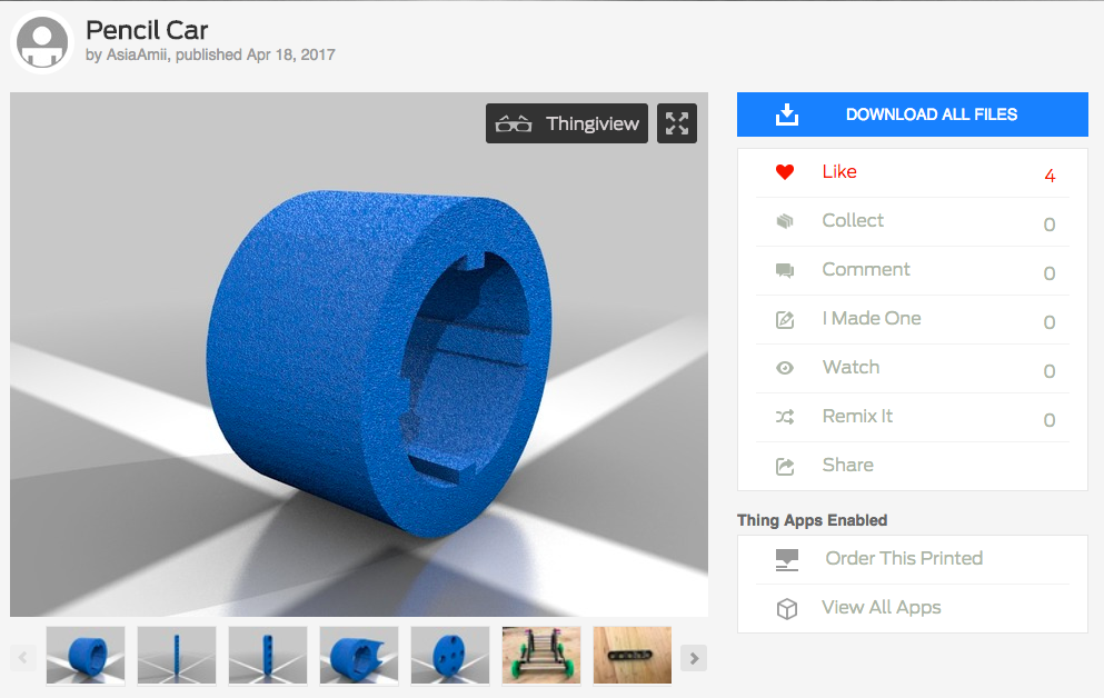 Picture of Productize on Thingiverse