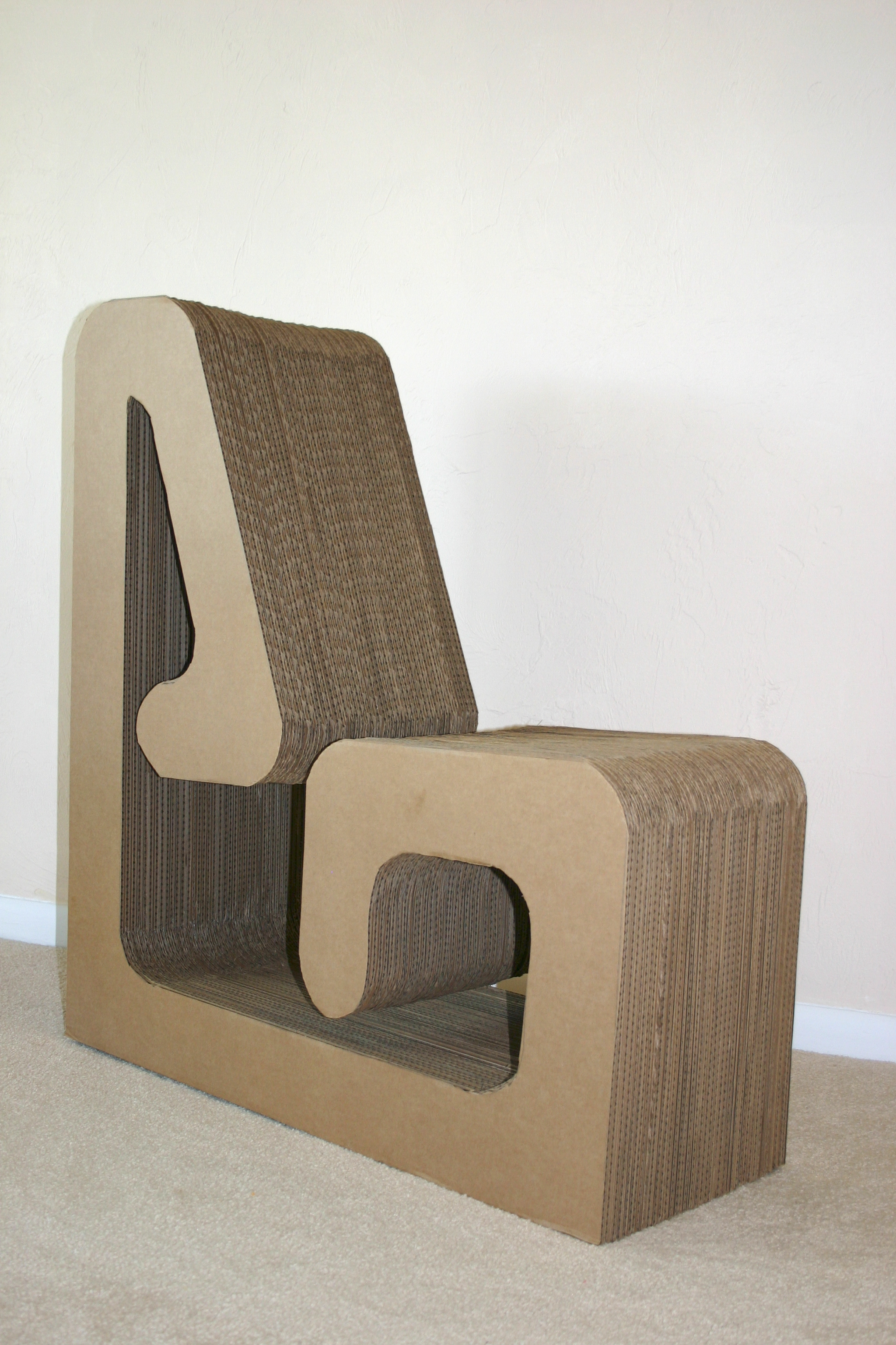 Cardboard rocking chair - Cardboard Rocking Chair 19