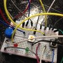 Servo LED Button Blink