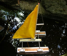 Make A Toy Catamaran
