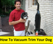 How To Make a Vacuum Trimmer for your Dog